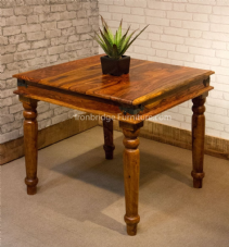 JALI STYLE 85X85CM DINING TABLE